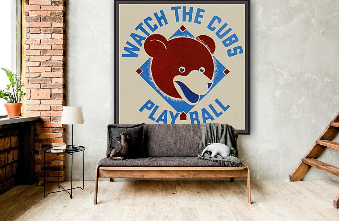 1940_Major League Baseball_Chicago Cubs  Art