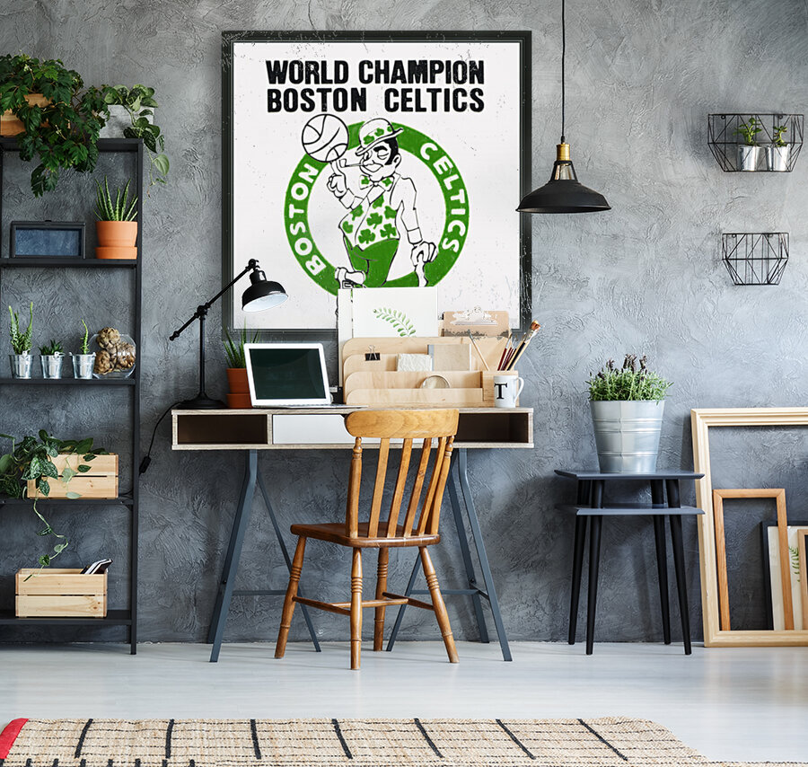 1981 Boston Celtics World Champions Art Reproduction  Art