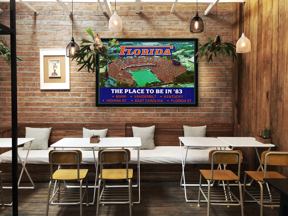 1983 college football florida gators place to be in 83  Art