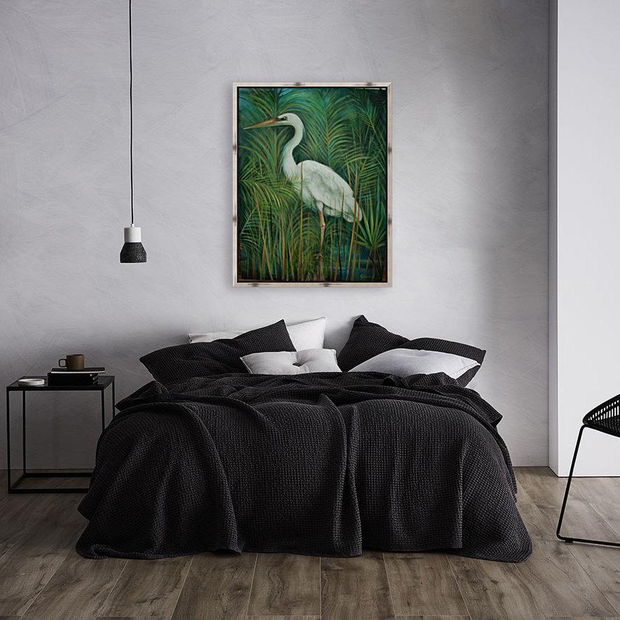 white heron 2  Art