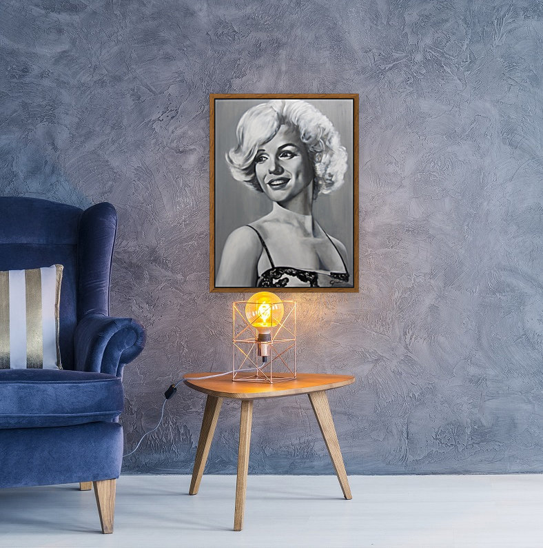 Monroe with Floating Frame
