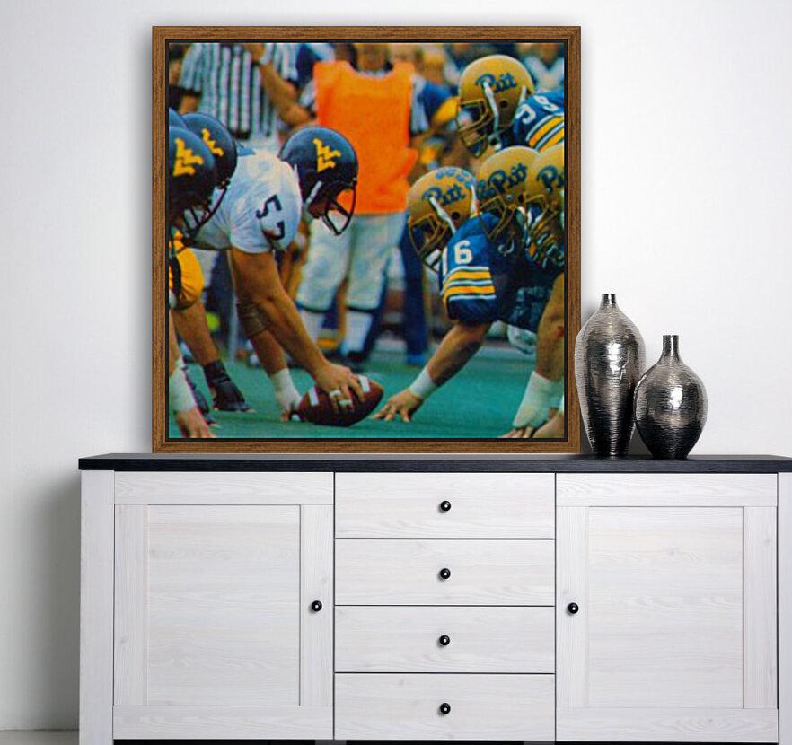 1981 College Football Photo West Virginia Pitt Panthers Wall Art  Art