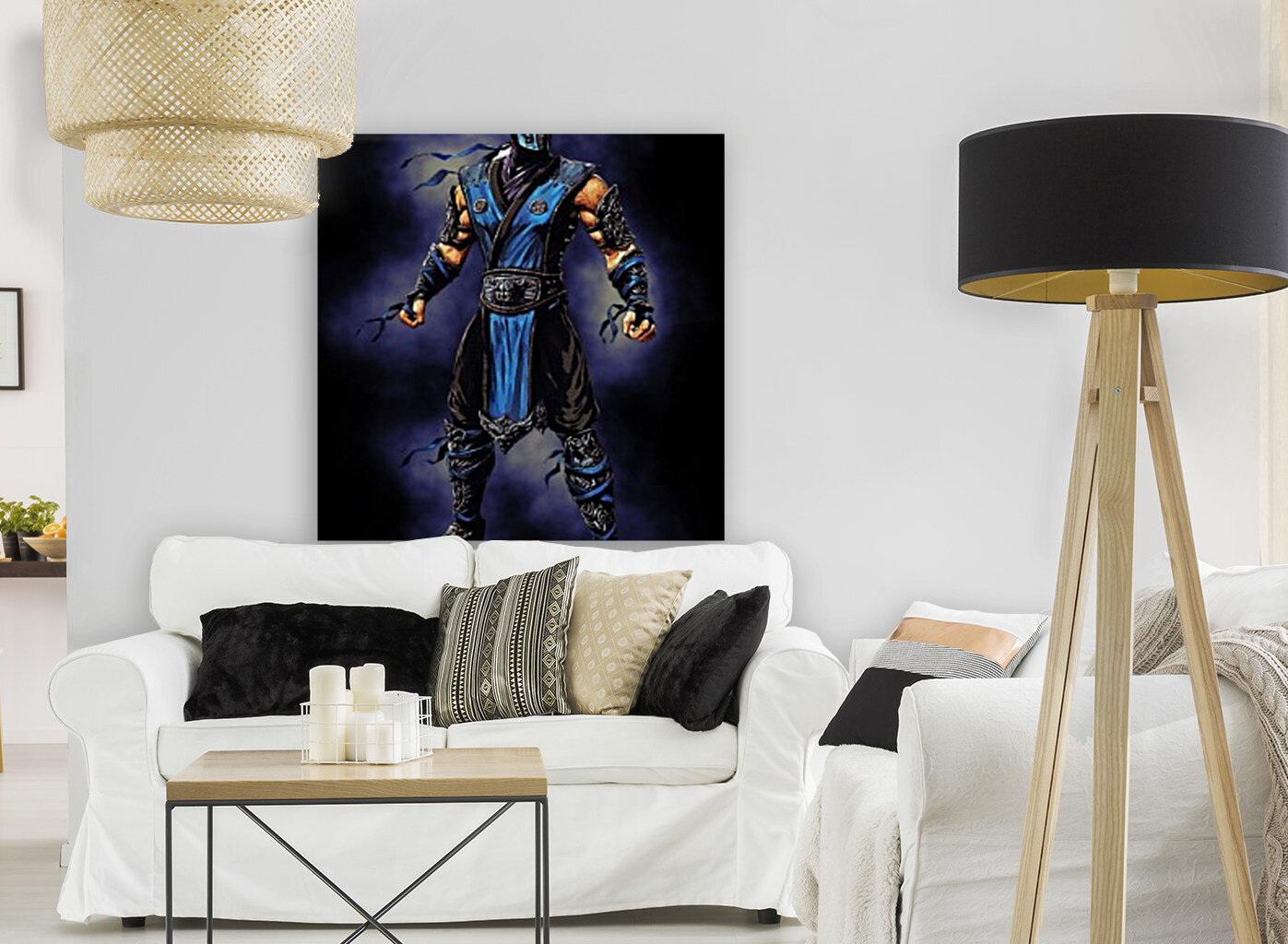 Sub Zero   Mortal Kombat with Floating Frame