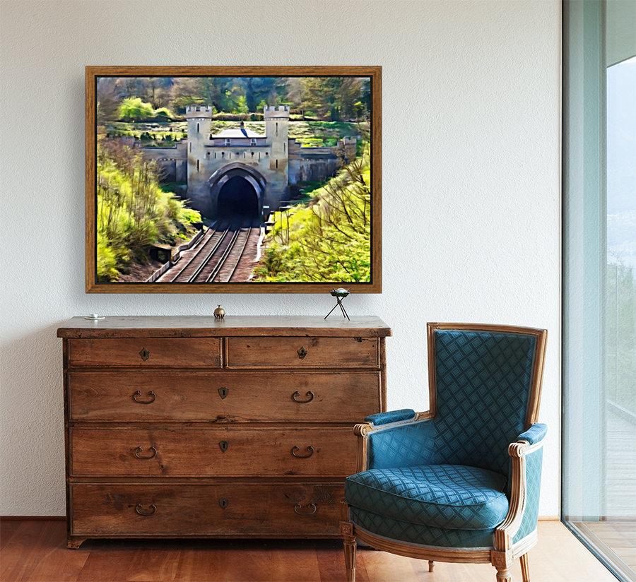 Clayton Tunnel in Sussex England  Art