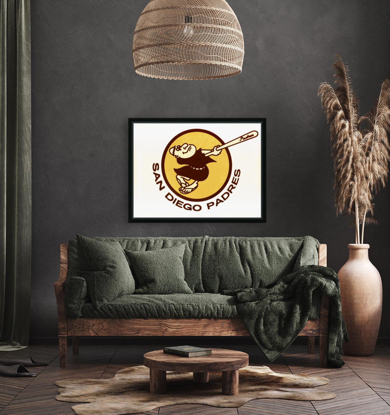 1980 san diego padres logo wall art  Art