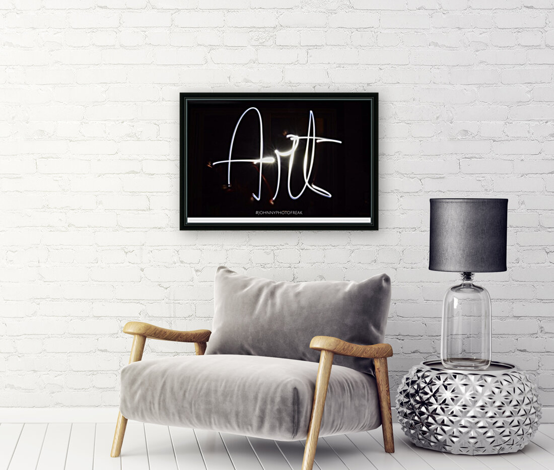 Art light calligraphy  Art
