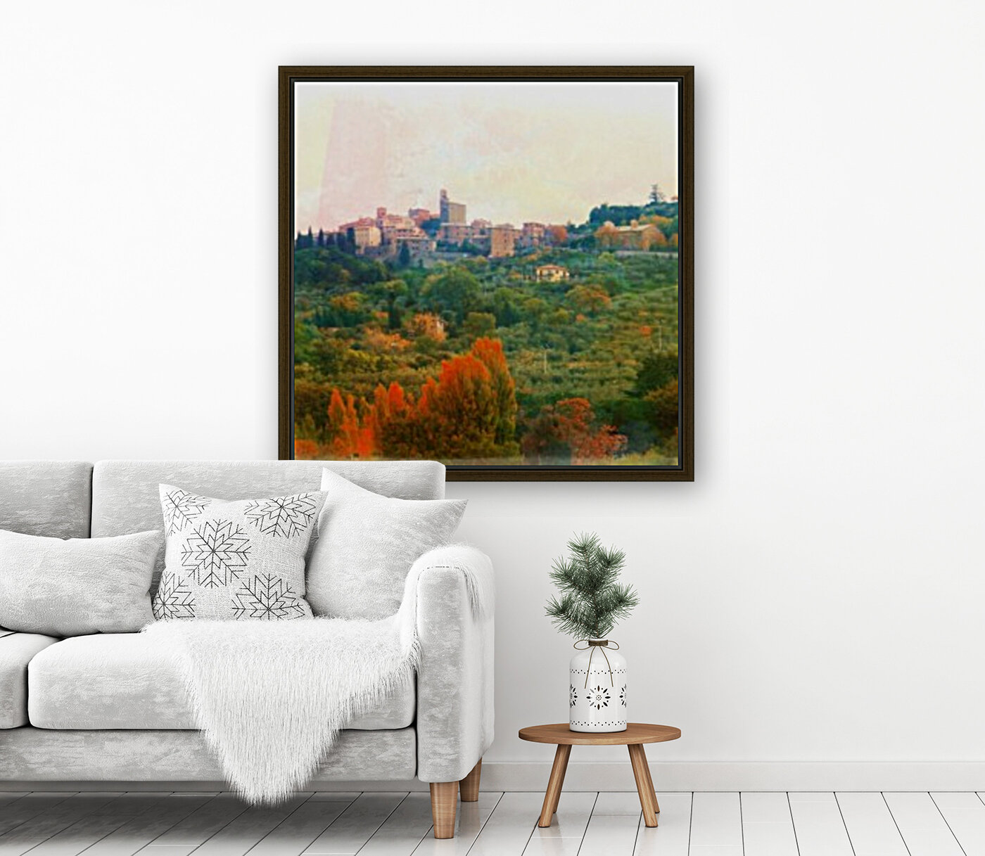 Panicale in Fall  Art