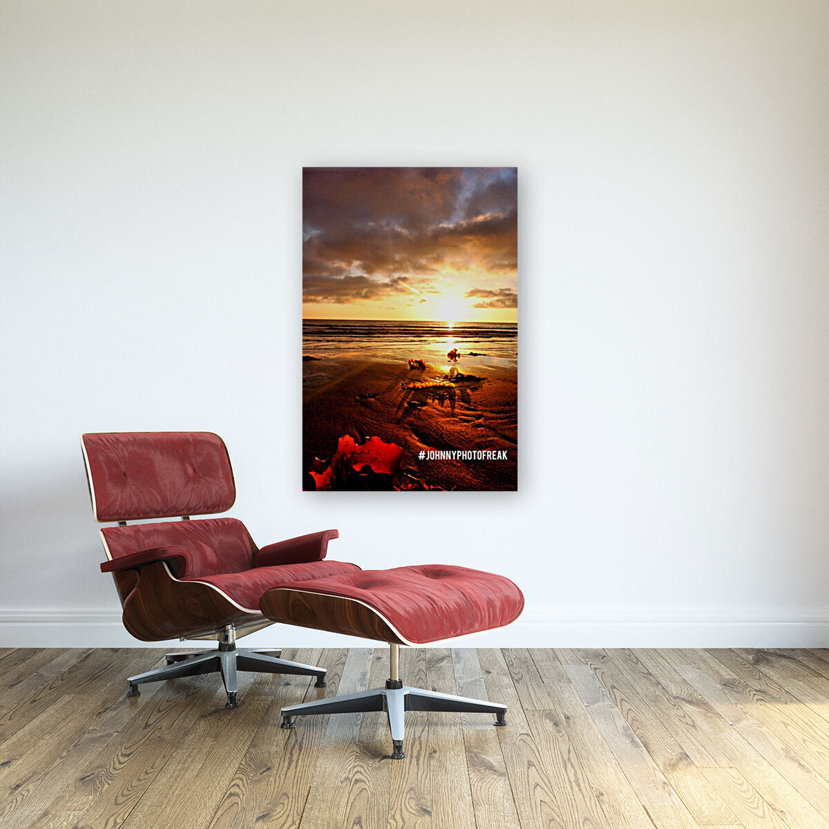 Sunrise fog your decor with Floating Frame