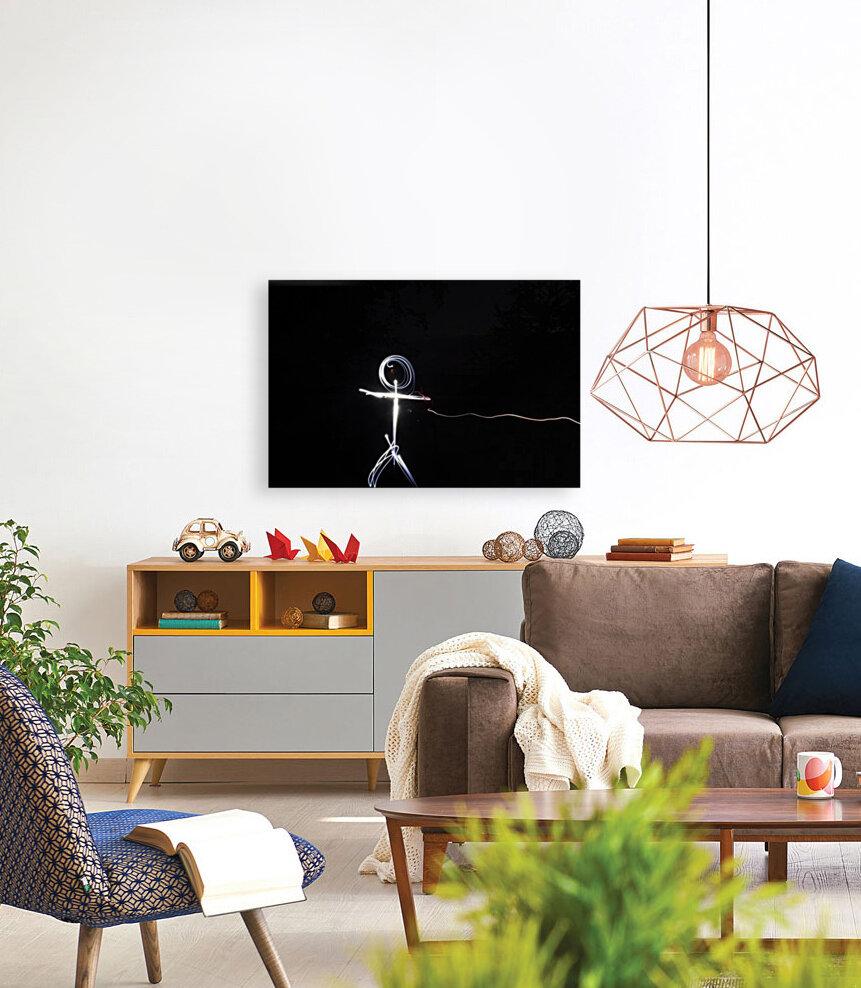 light stick man  Art