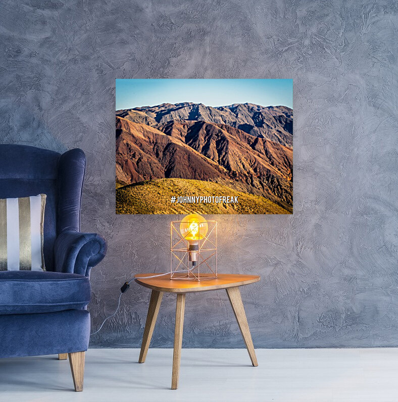 Death Valley with Floating Frame
