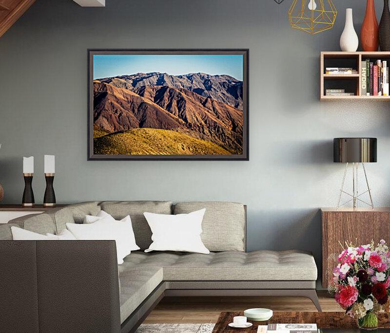Death Valley mountain  Art
