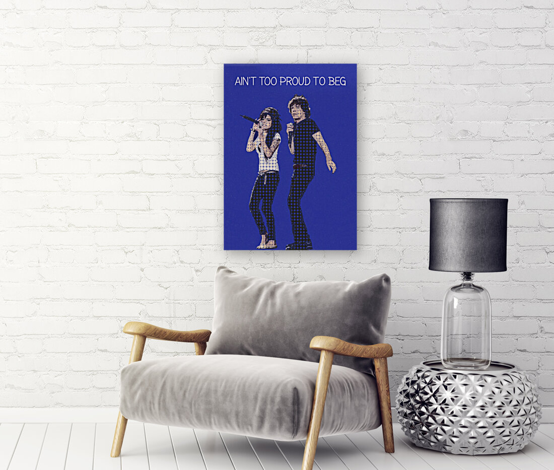 Aint Too Proud to beg   Amy Winehouse & Mick Jagger  Art