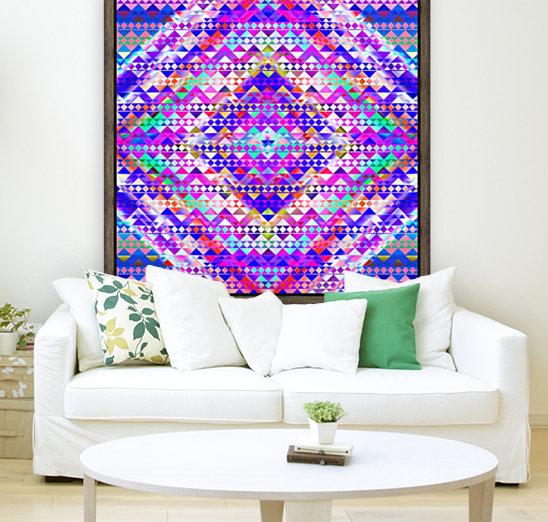 Mayan Pattern Blue  Art