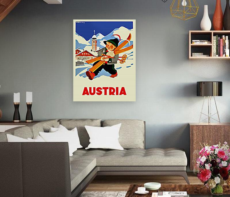 Little Skier from Austria  Art