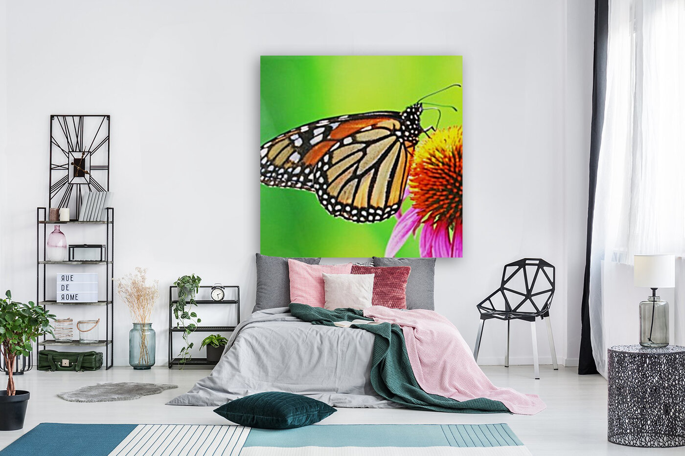 The Beauty Of The Monarch Butterfly  Art