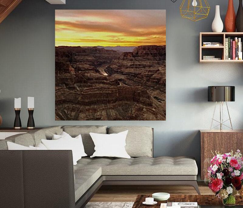 Canyon Sunset  Art