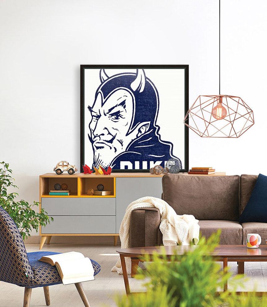 1950s duke university blue devil college art  Art
