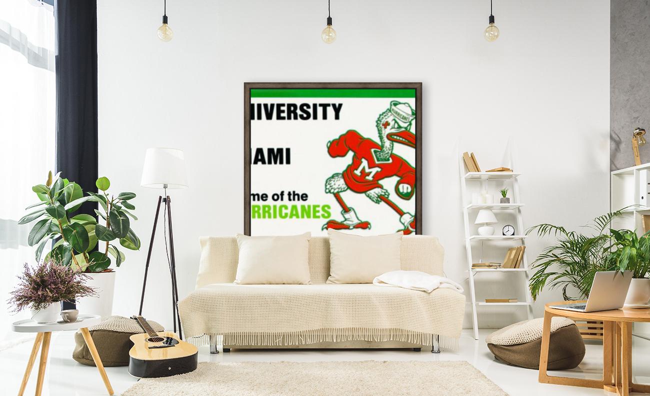 university of miami home of the hurricanes  Art