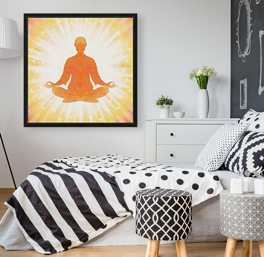 In Meditation - Be The Light  Art