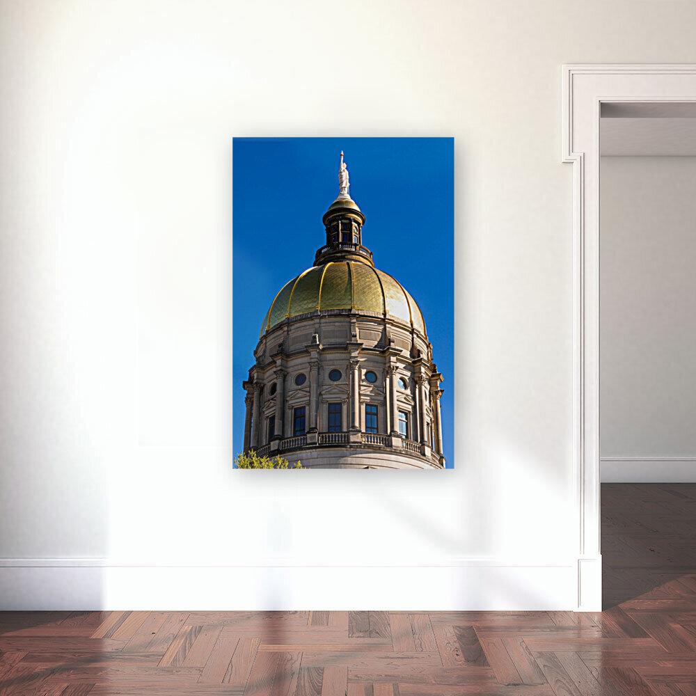 Georgia State Capitol Building   Atlanta GA 7190  Art
