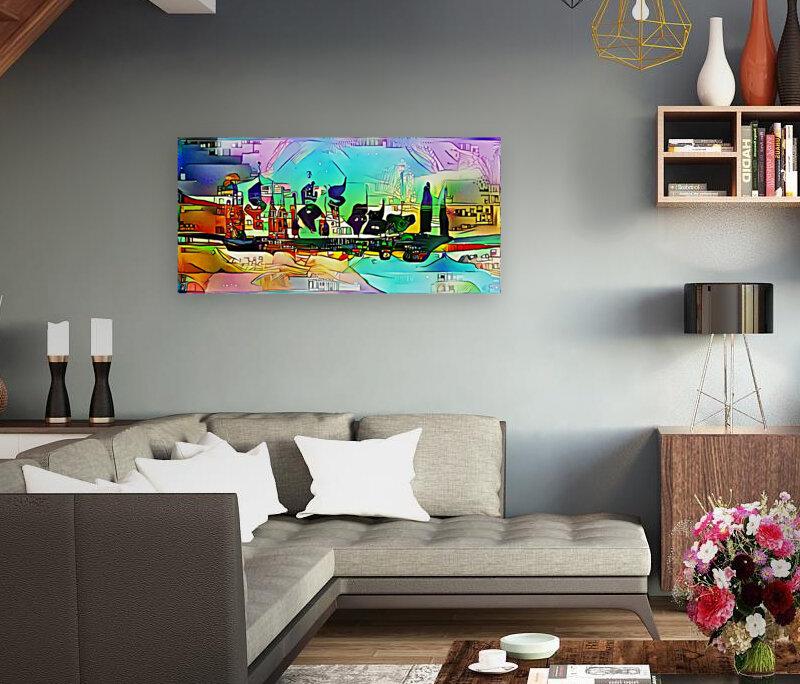 city5 ship  Art