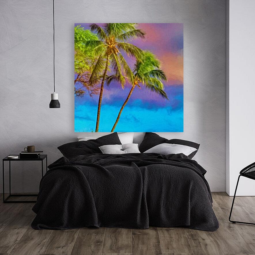 Palms Against The Sky  Art