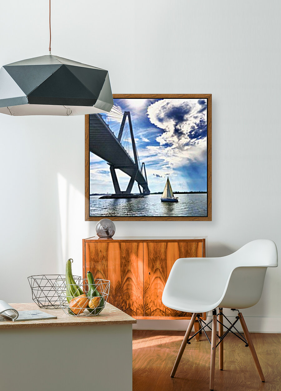Sail Away with Floating Frame