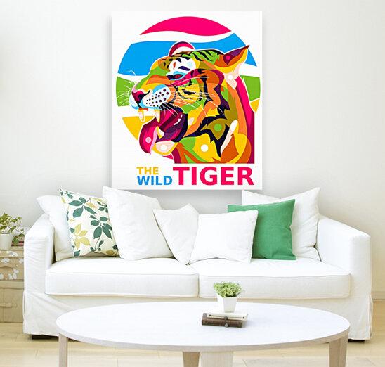 The Wild Tiger  Art