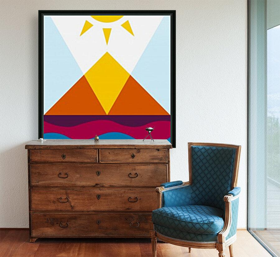 The Pyramid  Art