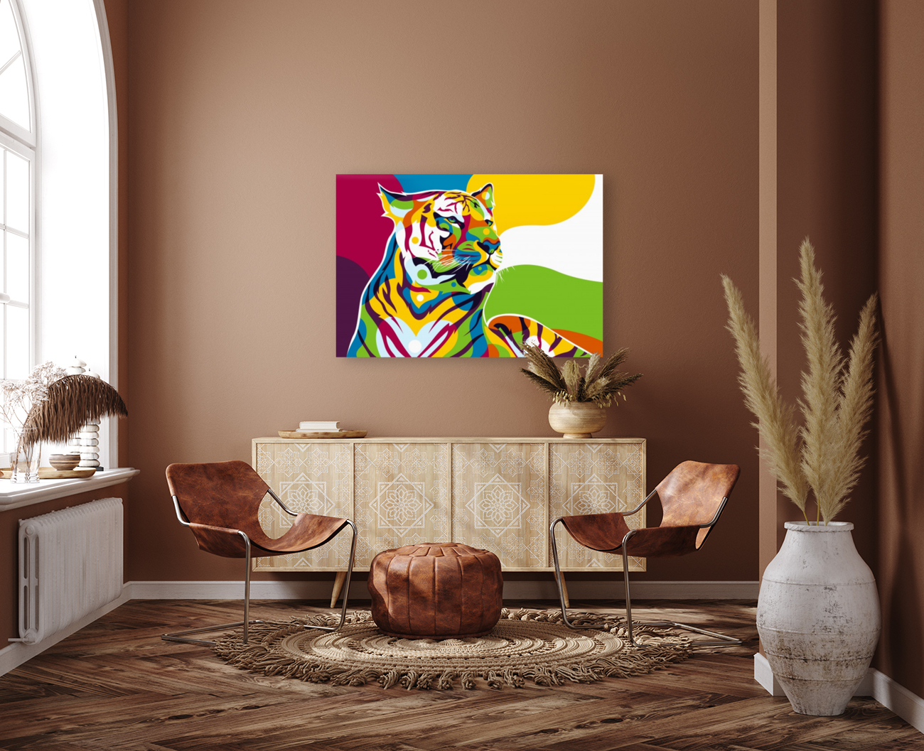 The King Tiger   Art