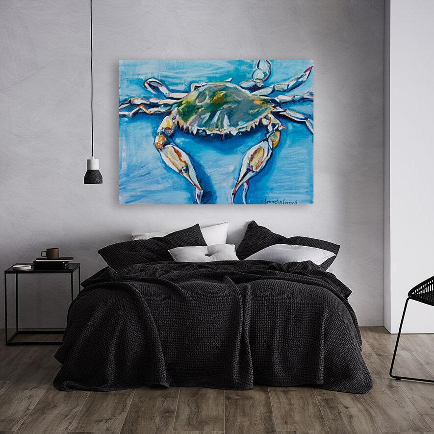 Louisiana He Soft Shell Crab  Art