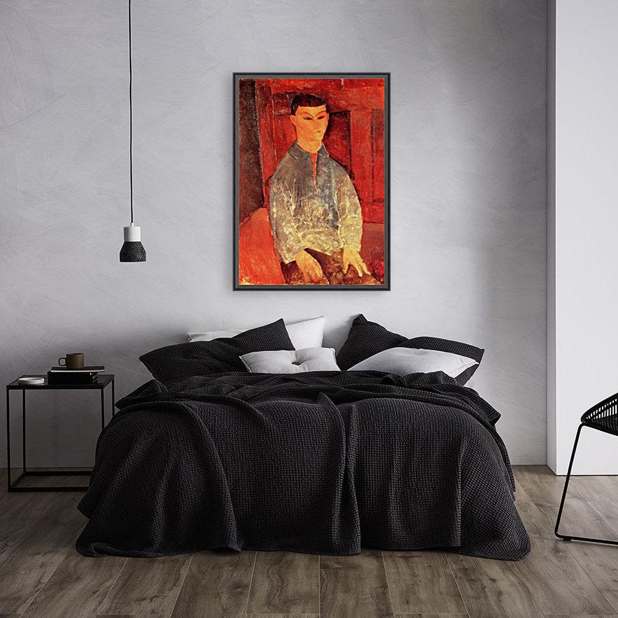 Modigliani - Portrait of Moise Kisling -3-  Art