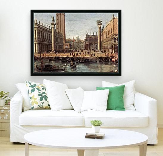 The Piazzetta from the Bacino di San Marco  Art