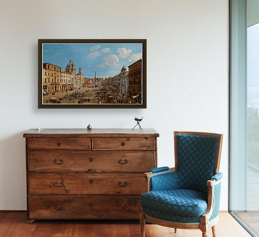 The Piazza Navona  Art