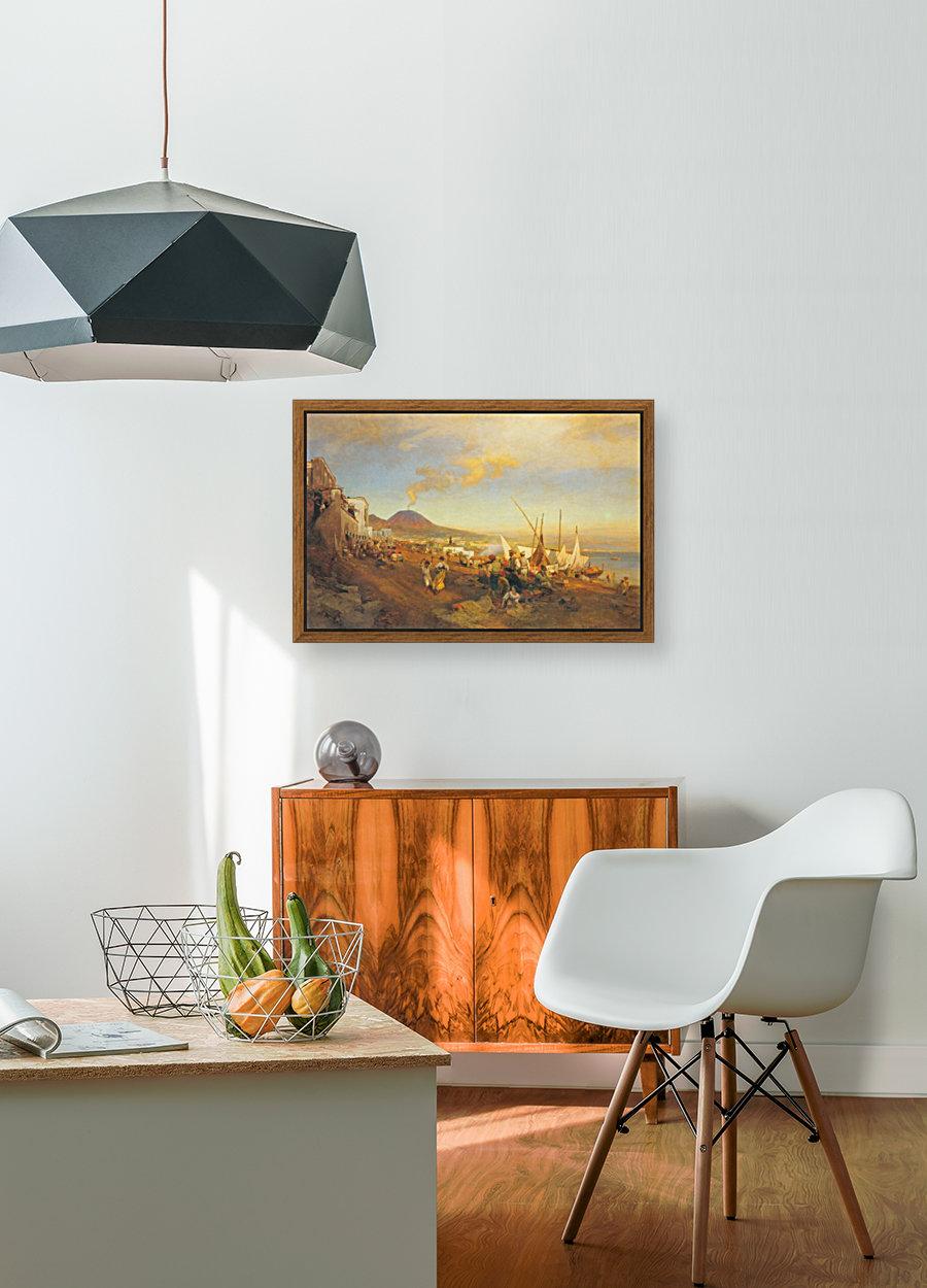 View of Naples  Art