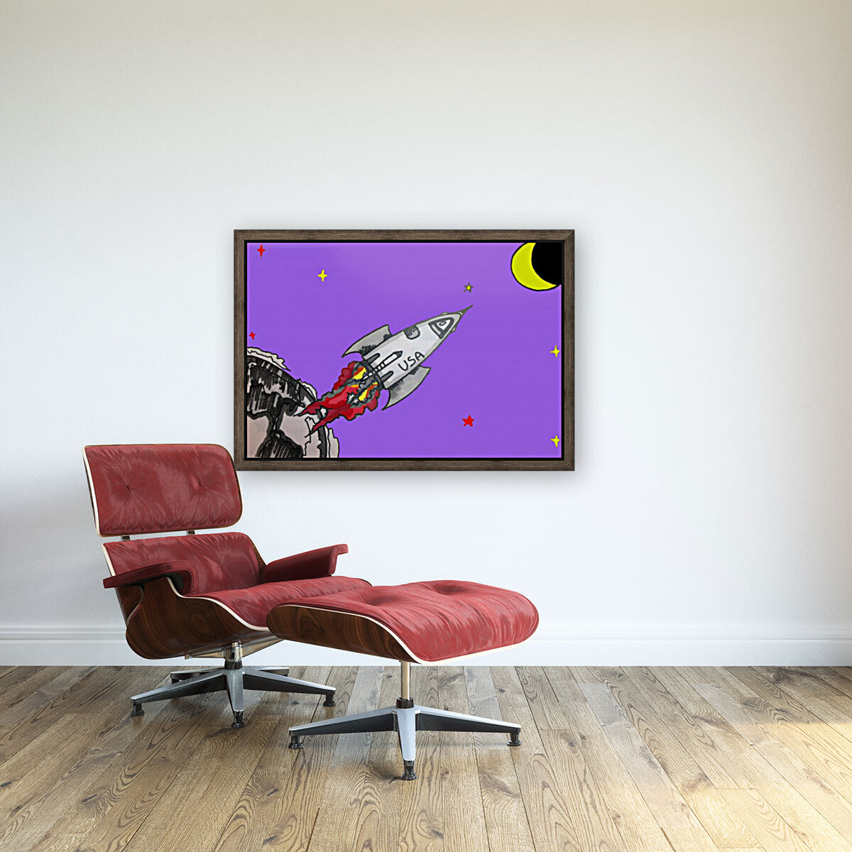 HAVE SPACE SHIP WILL TRAVEL  Art