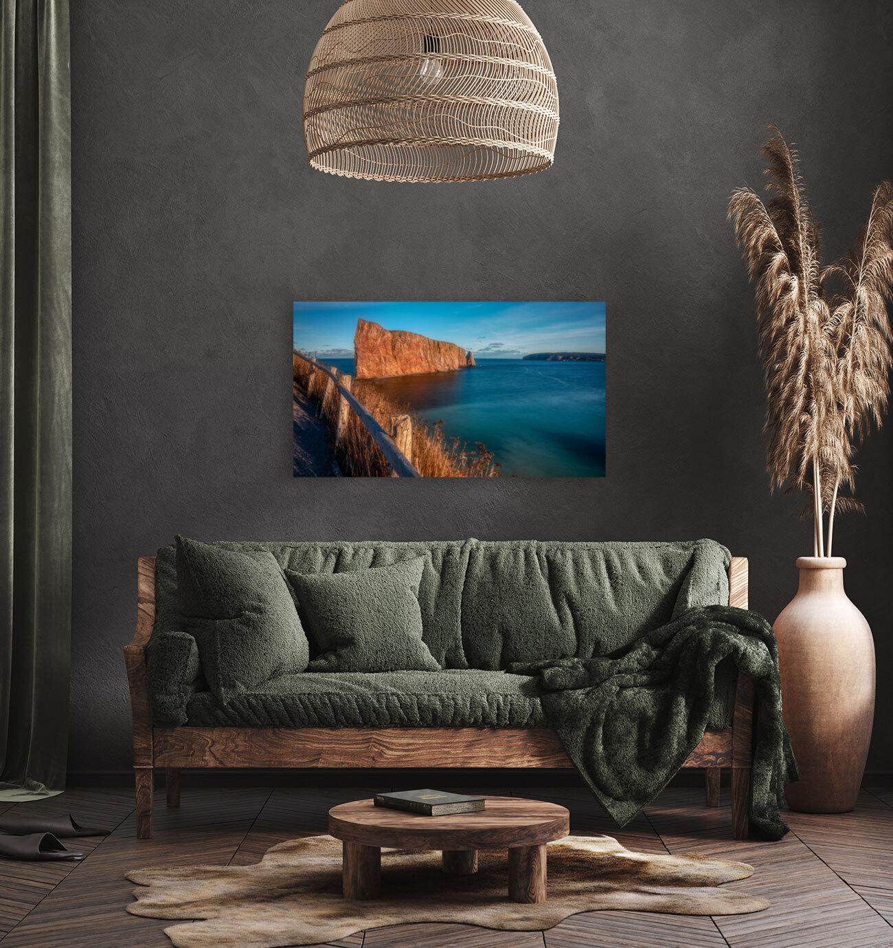 Lumiere sur le Rocher Perce  Art