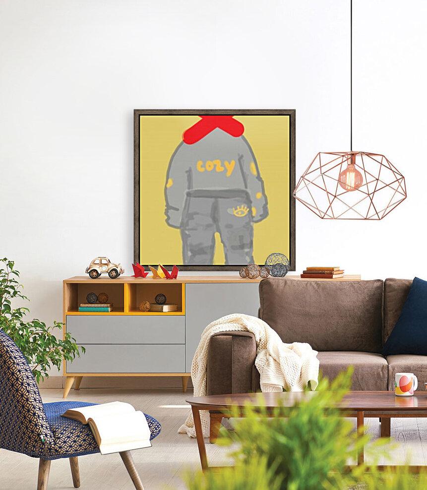 Cozy Coucher  Art