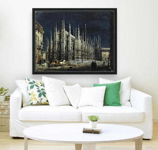 Notturno di Piazza del Duomo a Milano  Art