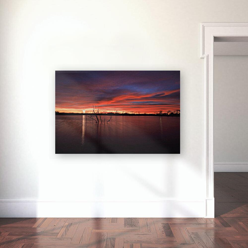 Lake Wellington Sunset  Art