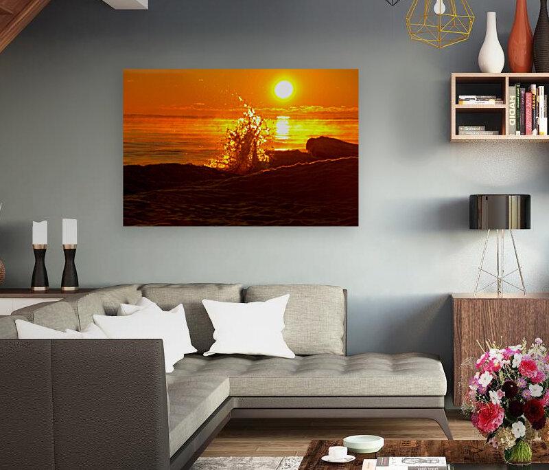 Lake Michigan Sunrise   Art