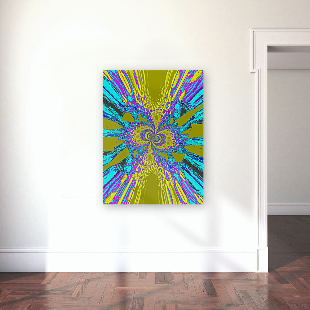 A Wildflower Spinning In The Wind 6  Art