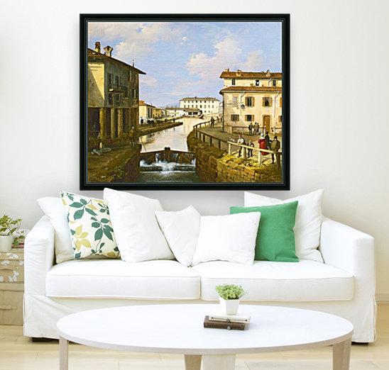 Il Naviglio dal ponte di San Marco  Art