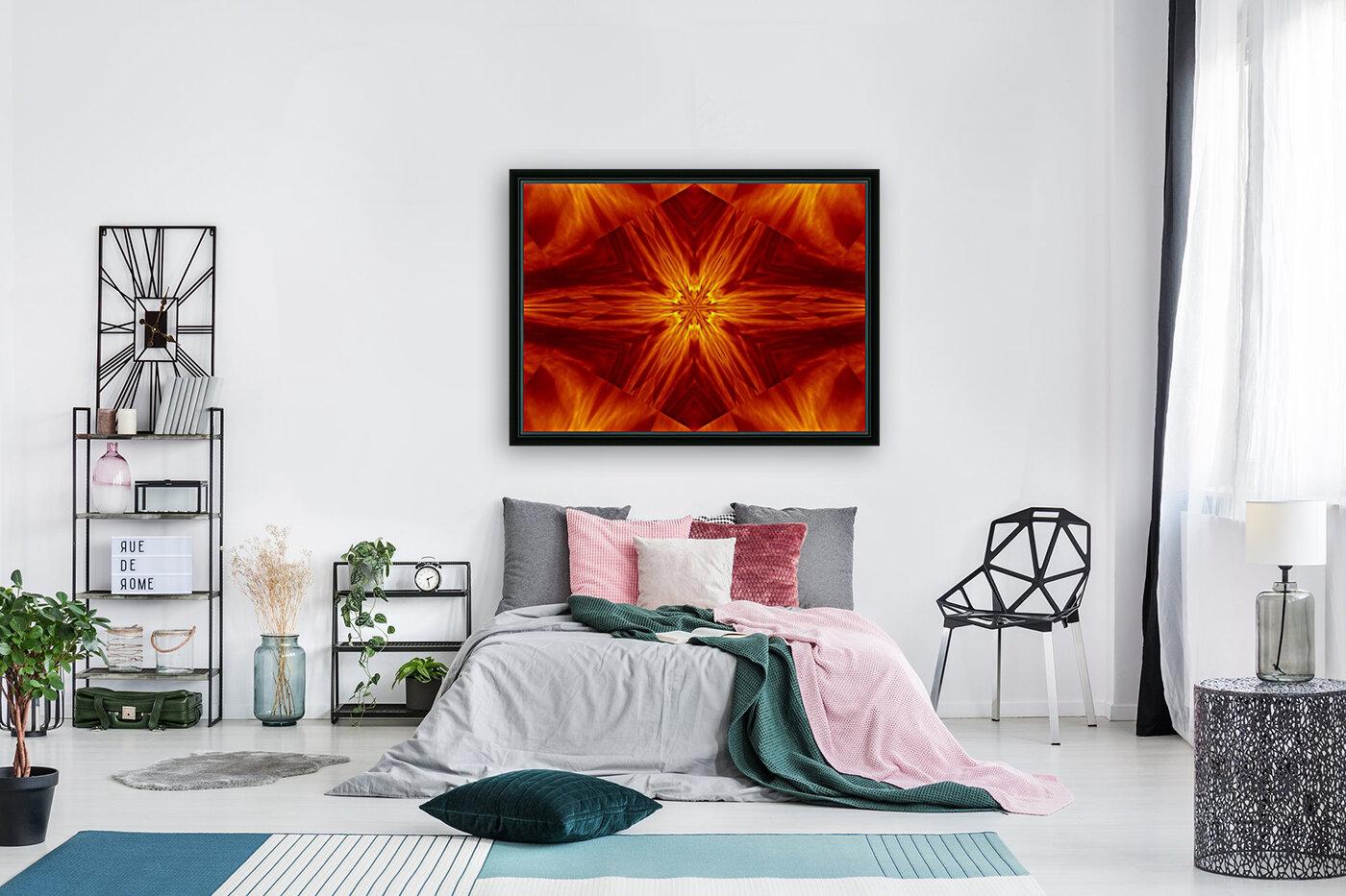 Fire Flowers 2  Art