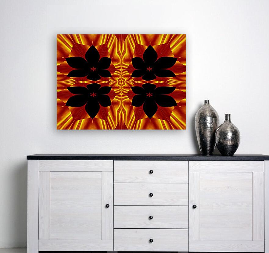 Fire Flowers 89  Art