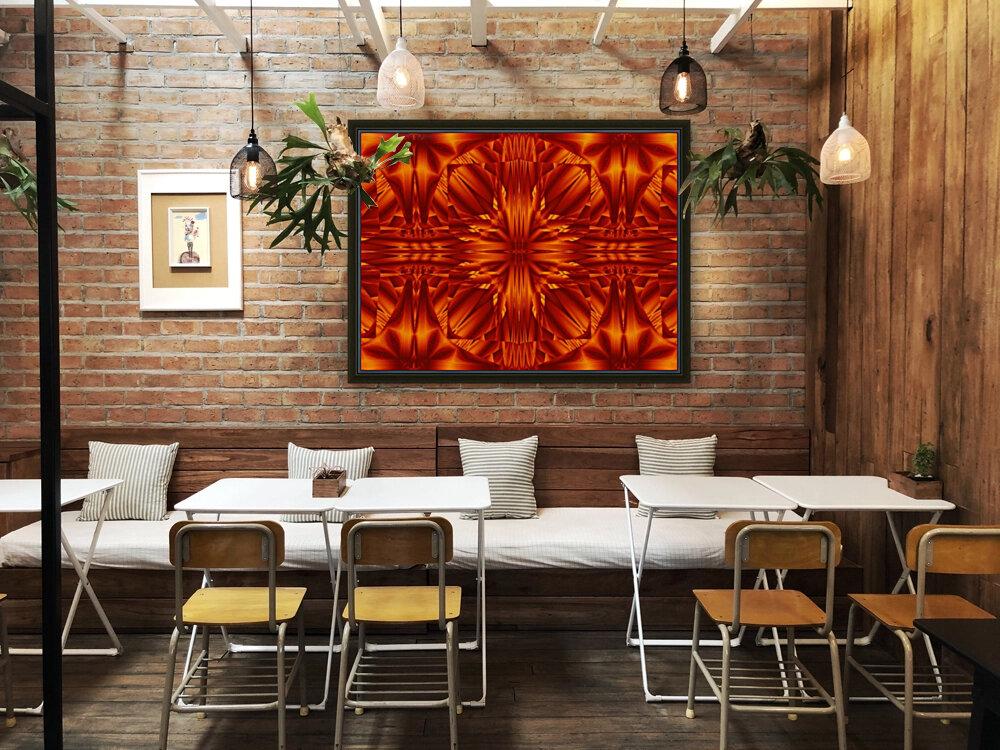 Fire Flowers 188  Art