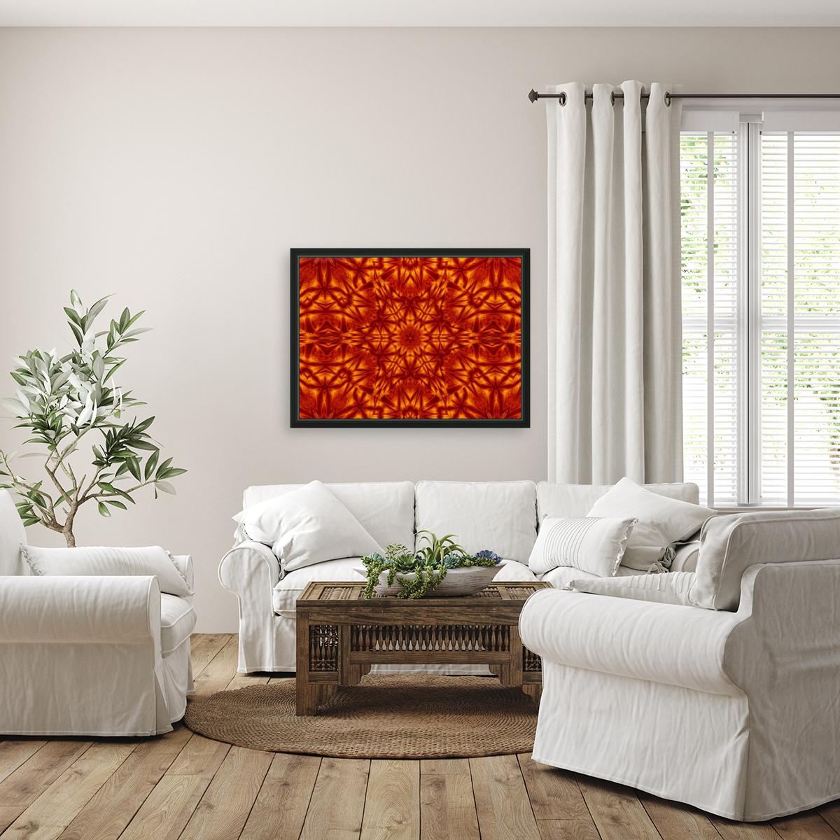 Fire Flowers 207  Art