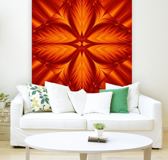 Fire Flowers 248 with Floating Frame