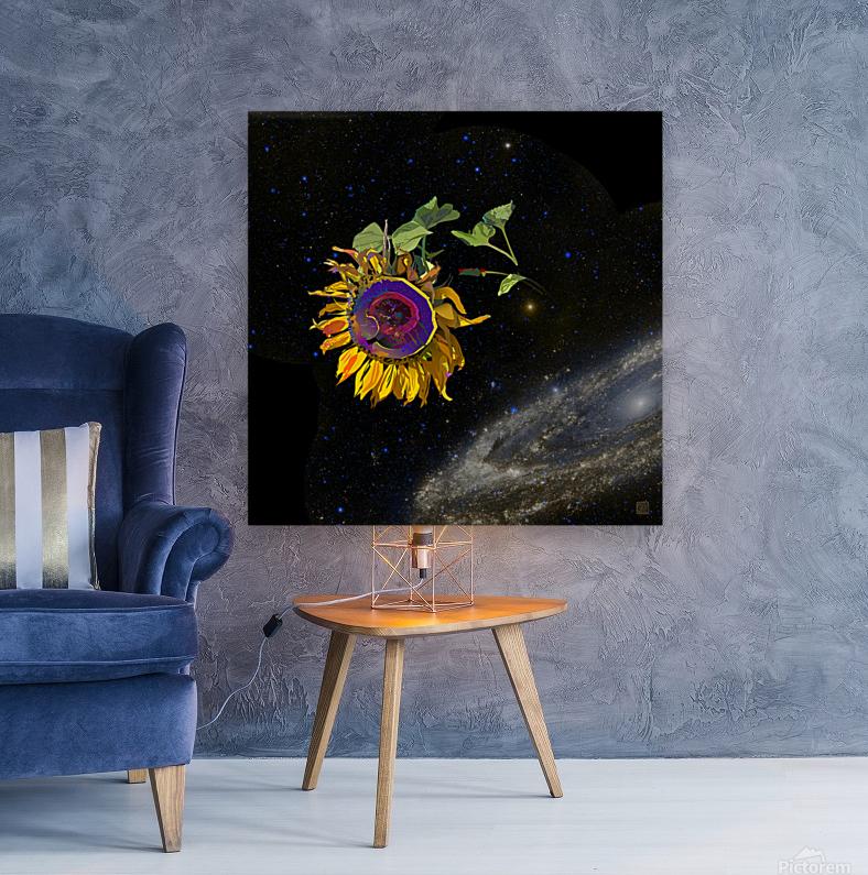 Sunflower in Space  Art