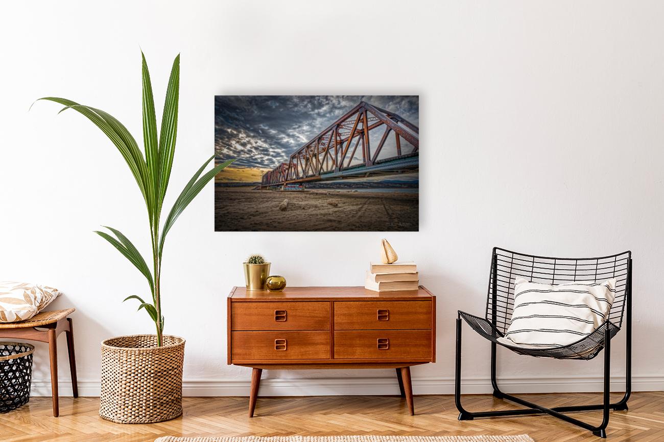 Pont de fer Haldimand  Art